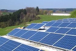 Photovoltaik-Anlage der Spedition Kellershohn