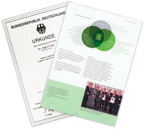 Urkunde Eco Performance Award