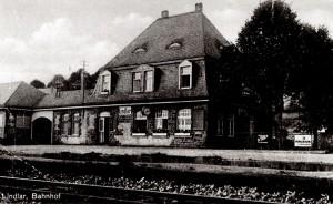 Bahnhof Lindlar 1971