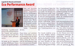 Kellershohn Zeitungsausschnitt Eco Award
